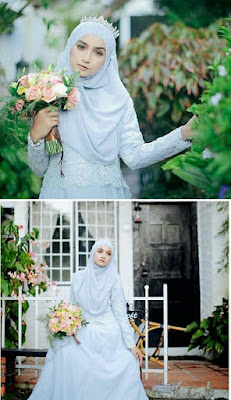 Kebaya Pengantin Muslim Modern