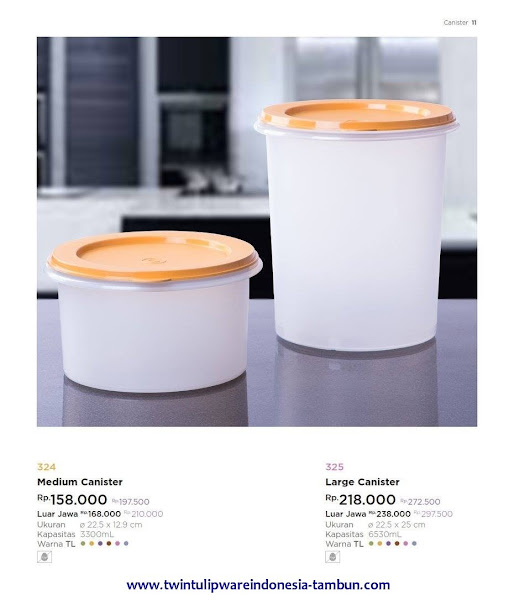 Medium Canister, Large Canister