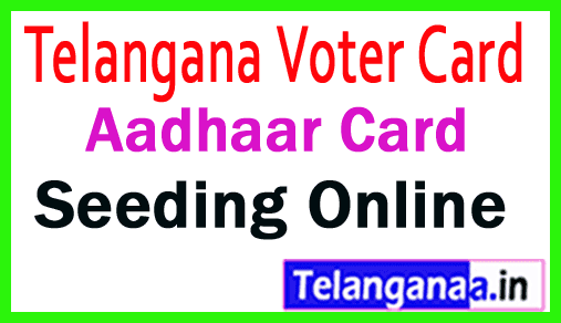 Aadhaar Card Link Voter Id Card Seeding