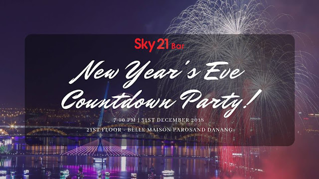 NEW YEAR'S EVE COUNTDOWN PARTY - BELLE MAISON PAROSAND DA NANG