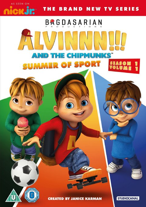 The Brick Castle Alvinnn And The Chipmunks Summer Of Sport Dvd Review And Giveaway