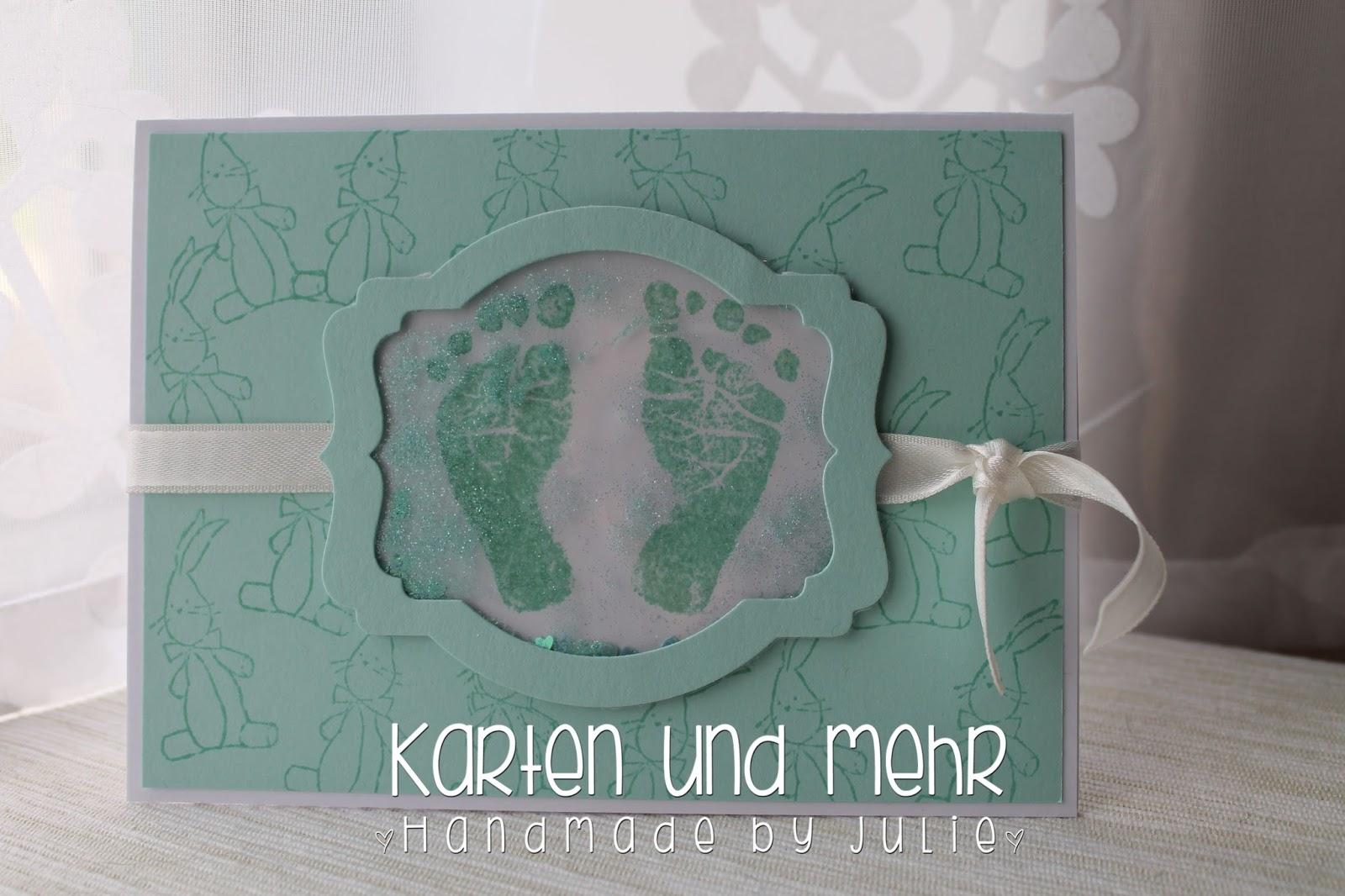 Glückwunschkarte zur Geburt - Stampin' Up! Baby, We've Grown