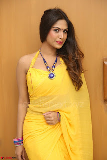 Nishigandha in Yellow backless Strapless Choli and Half Saree Spicy Pics 166.JPG