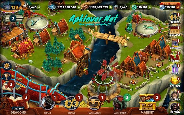 Dragons Rise of Berk MOD APK unlimited money
