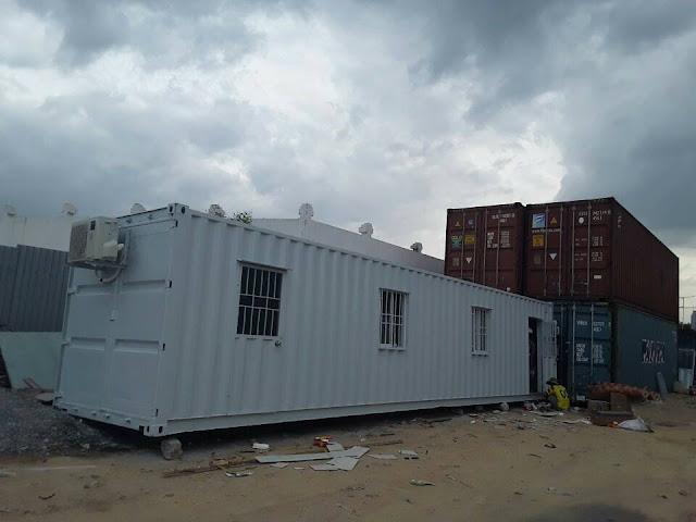 Container Văn Phòng 40 Feet Tại Tân Hiệp, Tân Uyên, Bình Dương