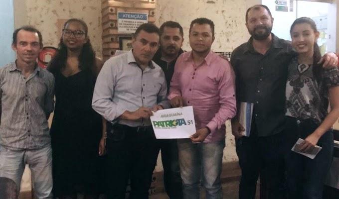 PATRIOTA QUER CANDIDATO A PREFEITO DE ARAGUAÍNA QUE REPRESENTA O COMBATE À CORRUPÇÃO