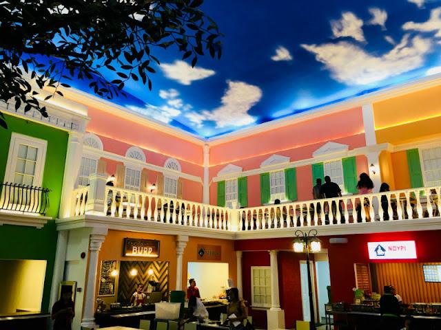 J Centre Mall Venetian Inspired Food Court Mandaue City Cebu