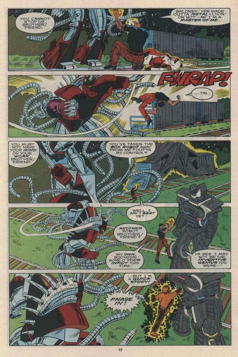 Read online Alpha Flight (1983) comic -  Issue #65 - 24