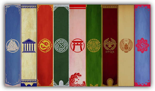 Smite Pantheon Banners