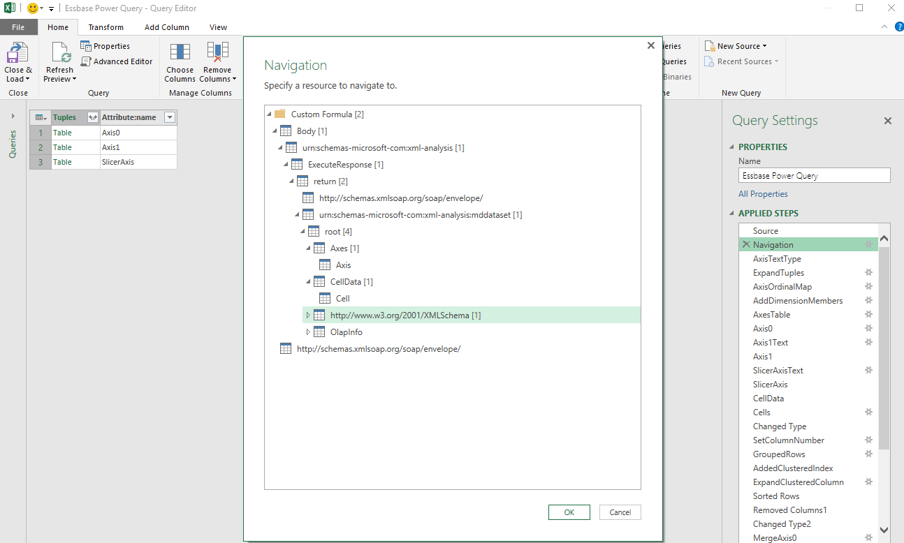 Essbase Tab Not Showing In Excel