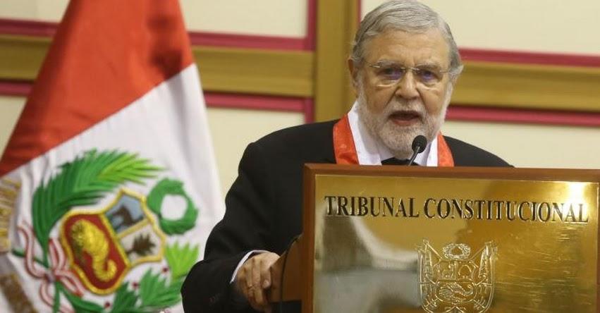 TC: Declaran inconstitucional cambios a la cuestión de confianza - www.tc.gob.pe