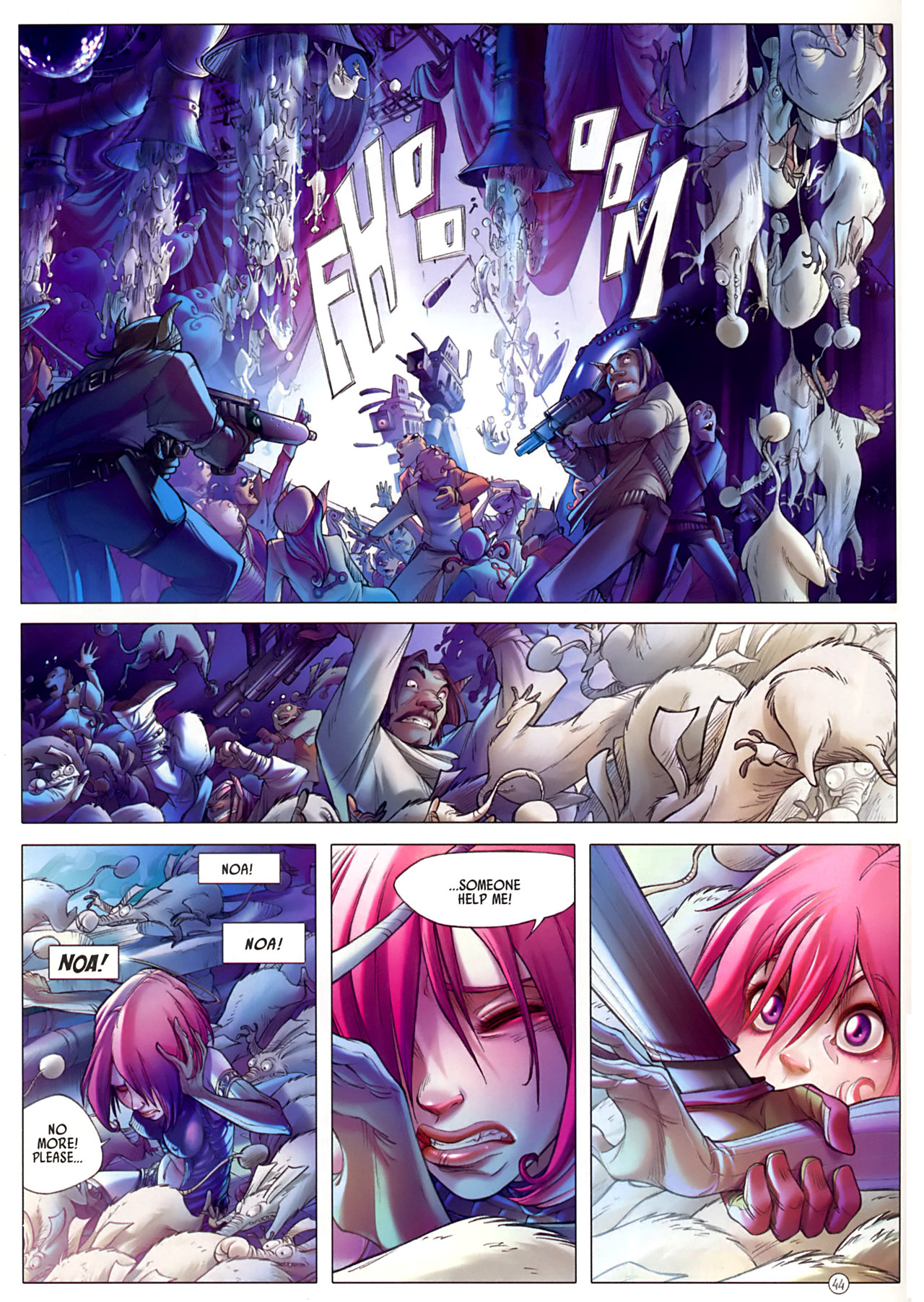 Read online Sky Doll comic -  Issue #3 - 48