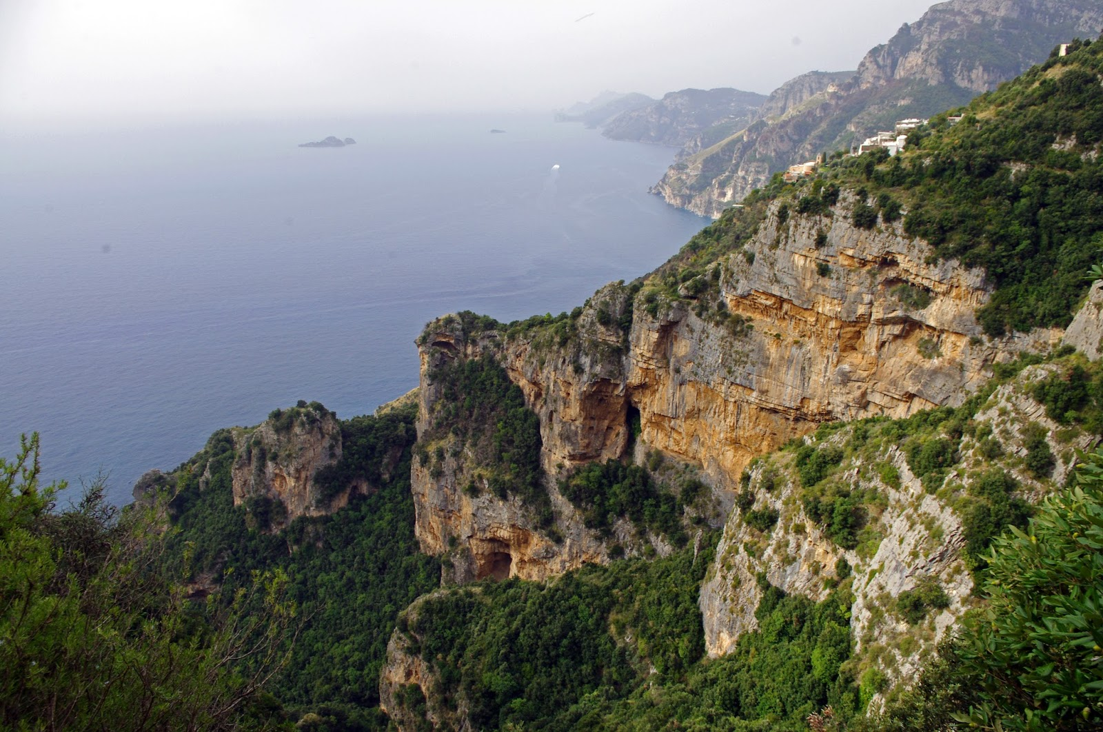 Views of Amalfi Coast from Walk of the Gods