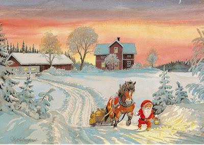 Bildresultat för gamla julkort