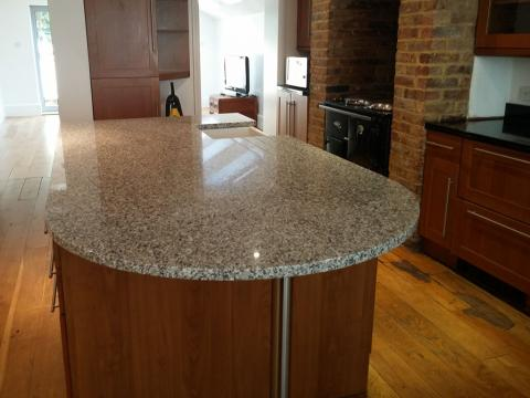 Bianco Cordo Granite Countertops
