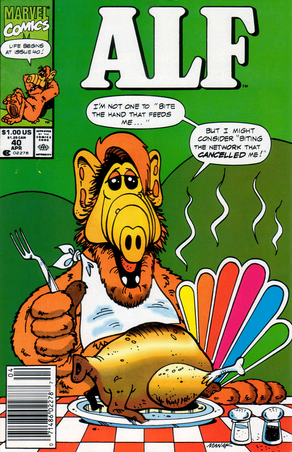 Read online ALF comic -  Issue #40 - 1