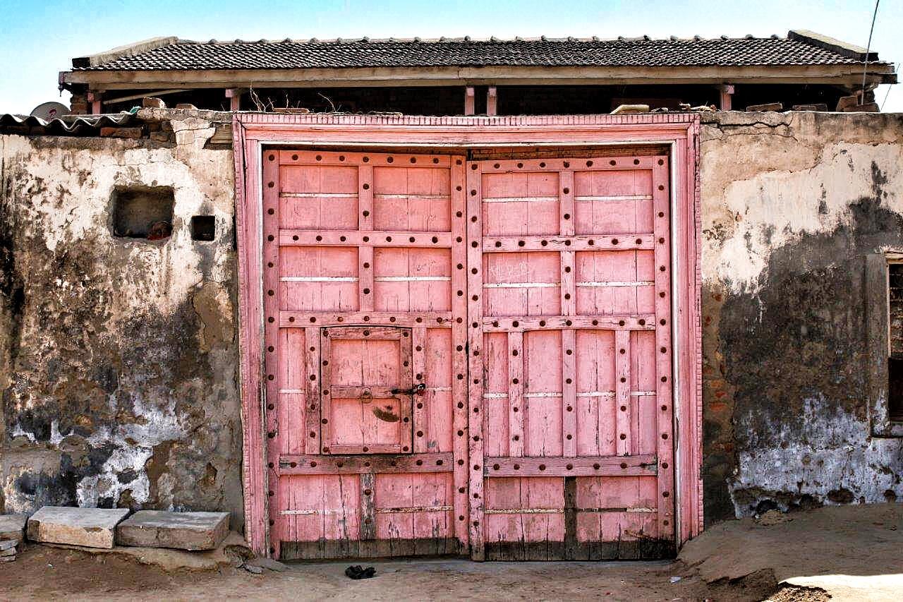 doors gujarat gujarati village rural & Exotic Wooden Doors from a Gujarati village