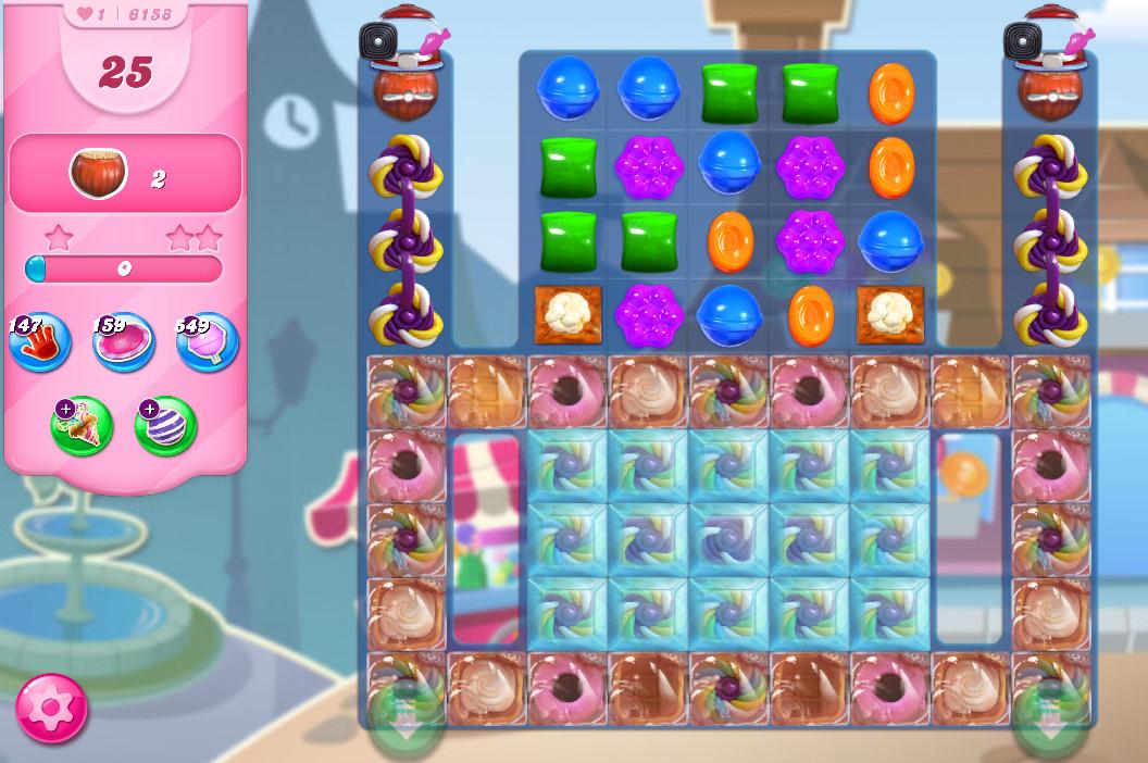 Candy Crush Saga level 6158