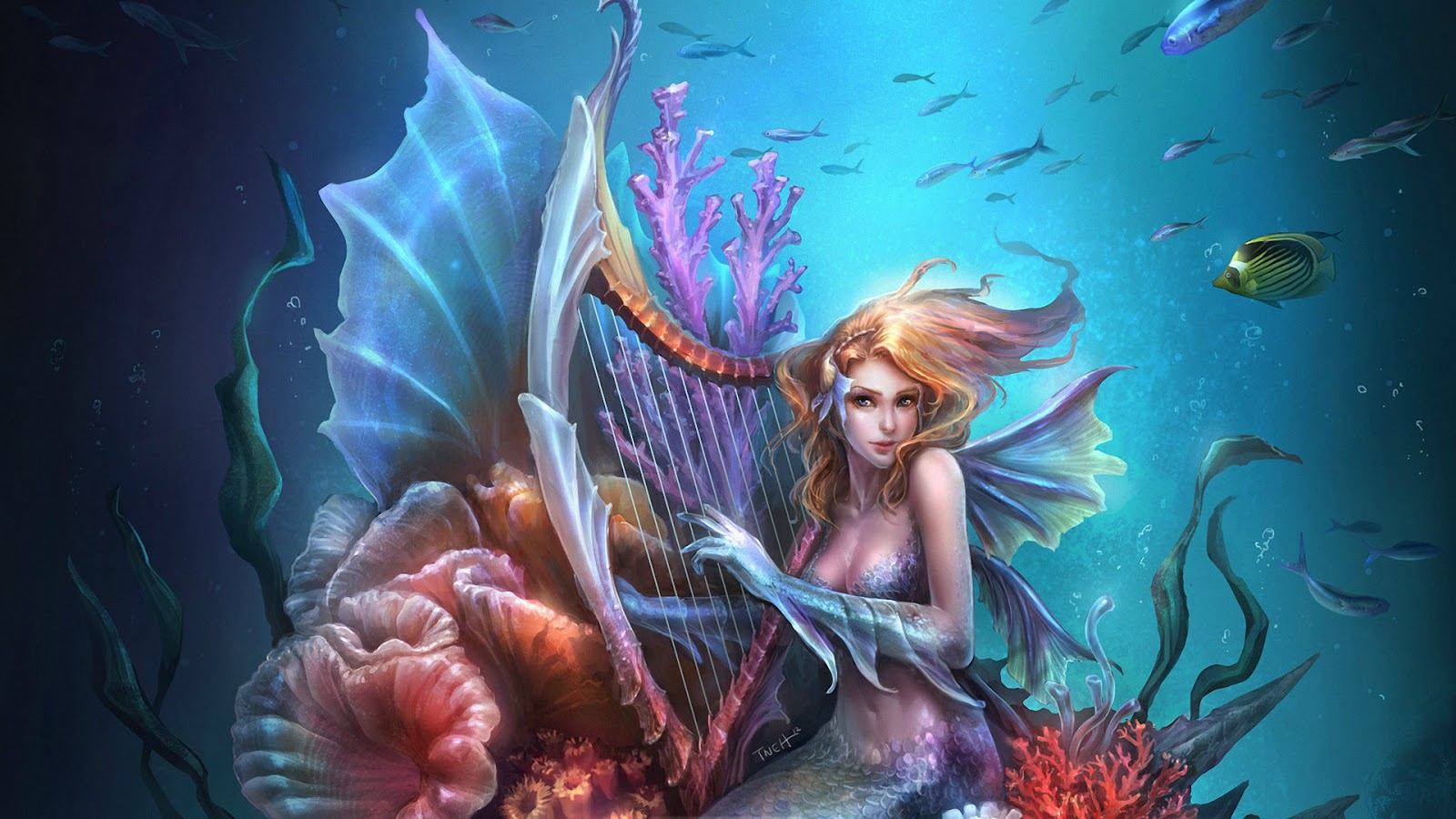 mermaid-queen-playing-music-beauty-sea-fish.jpg