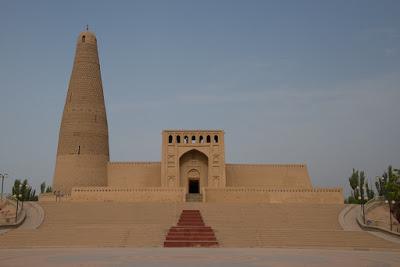 Imin Minaret mosque, Turpan, Xinjiang