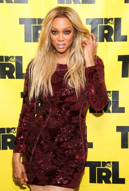 Tyra Banks - MTV TR - New York