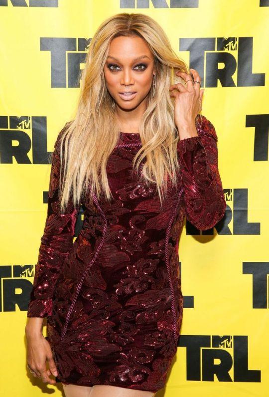Tyra Banks - MTV TR - New York