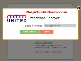 MMMunited password recover