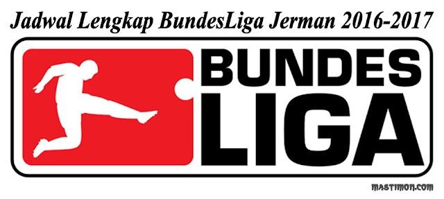 Jadwal BundesLiga Jerman 2016-2017 lengkap dengan Klasemen sementara