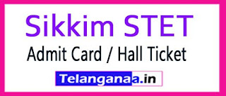 Sikkim STET Exam Admit Card / Hall Ticket 2017