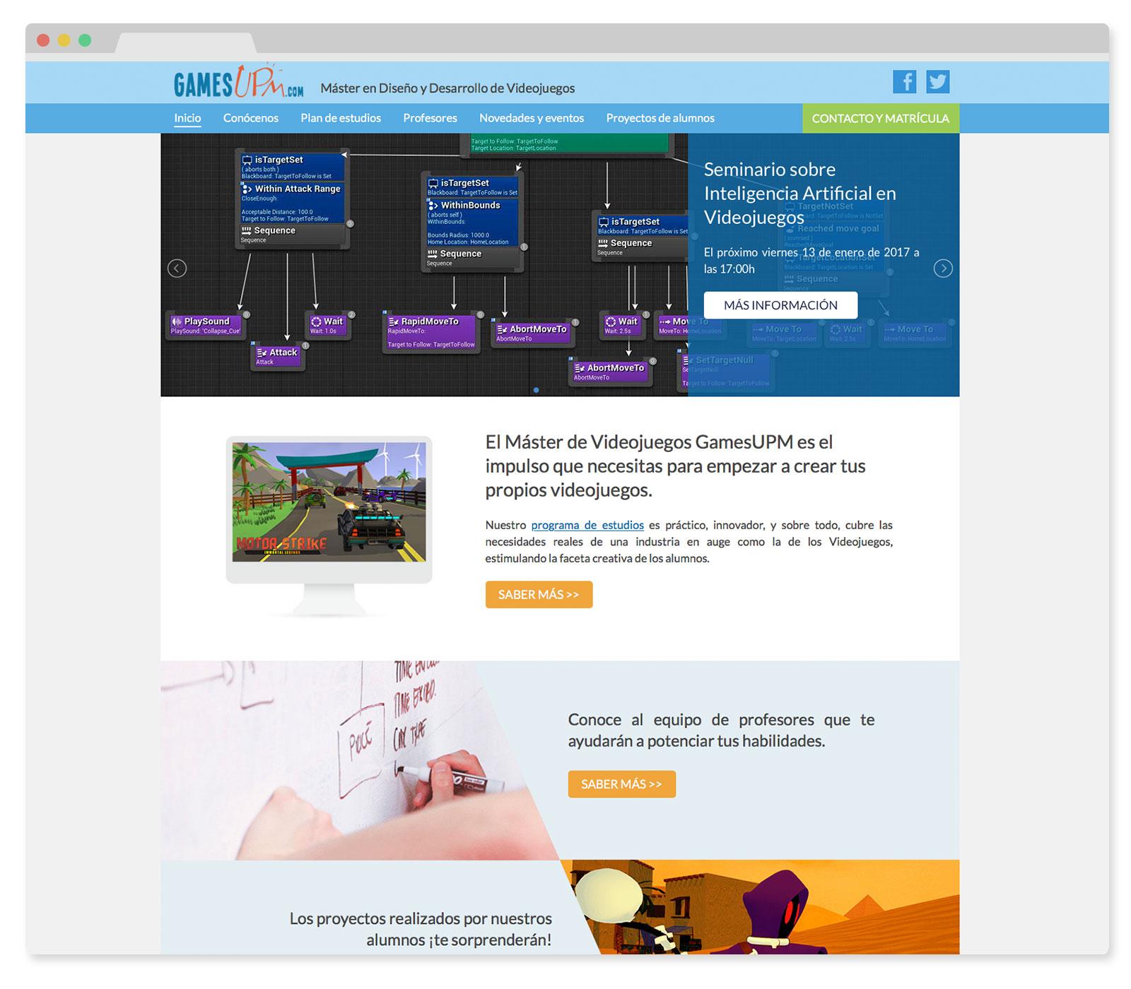 Creación y diseño de Websites
