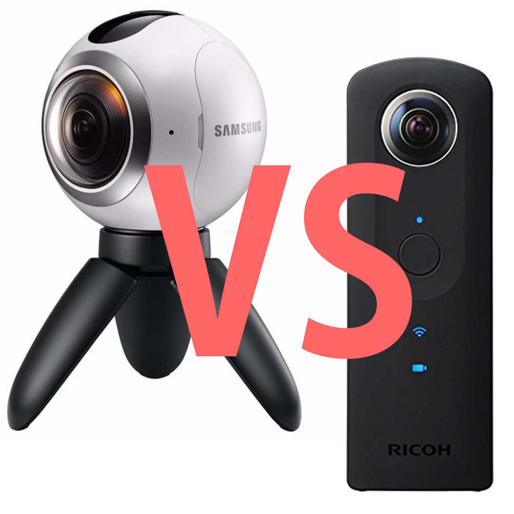 360度カメラの動画性能の画質比較 samsung gear 360 vs ricoh theta s