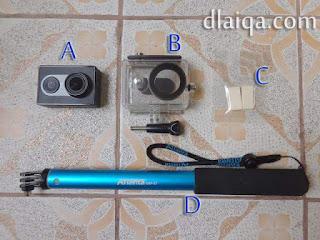 peralatan fotografi bawah air