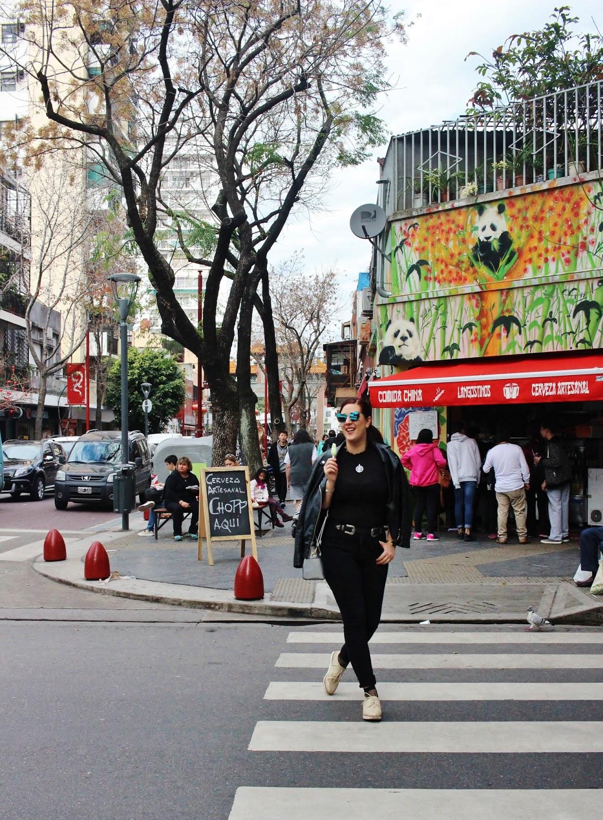 Barrio Chino de Buenos Aires gastronomia