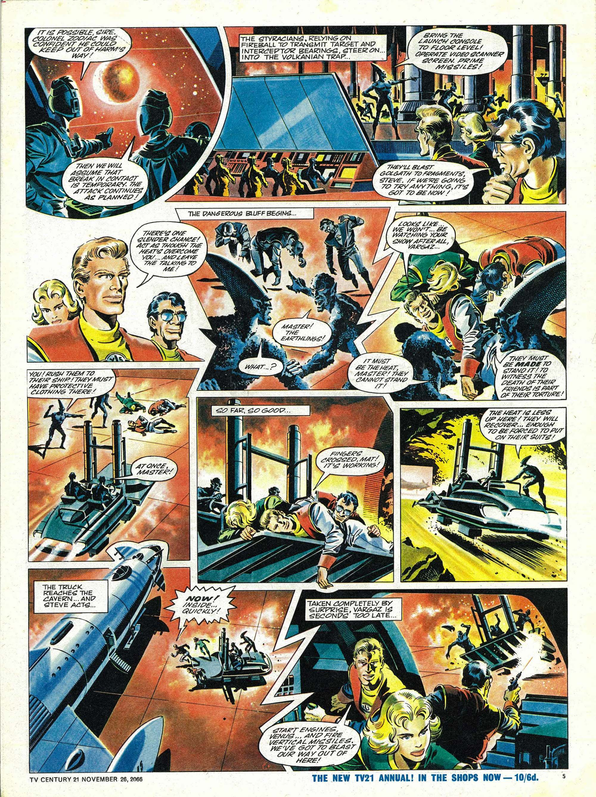 Read online TV Century 21 (TV 21) comic -  Issue #97 - 5