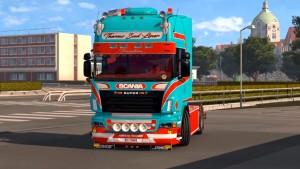 Scania R500 Seguro truck mod