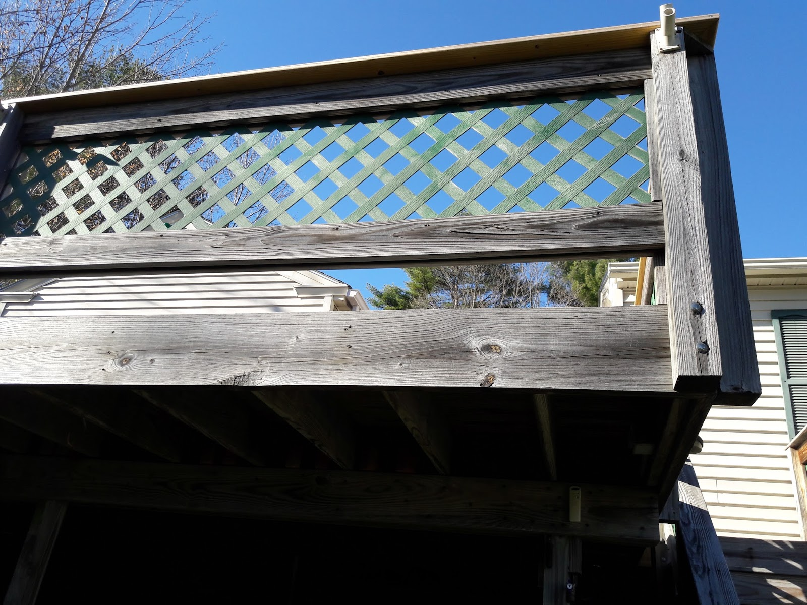 Nh handyman nh exterior home repairs and nh gutter for Balcony repairs