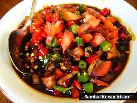 Cara membuat sambal kecap irisan bawang merah