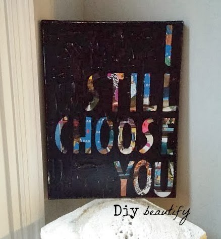 Easy Custom Canvas Art