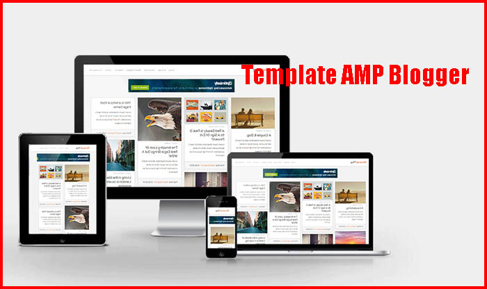 template amp blogger