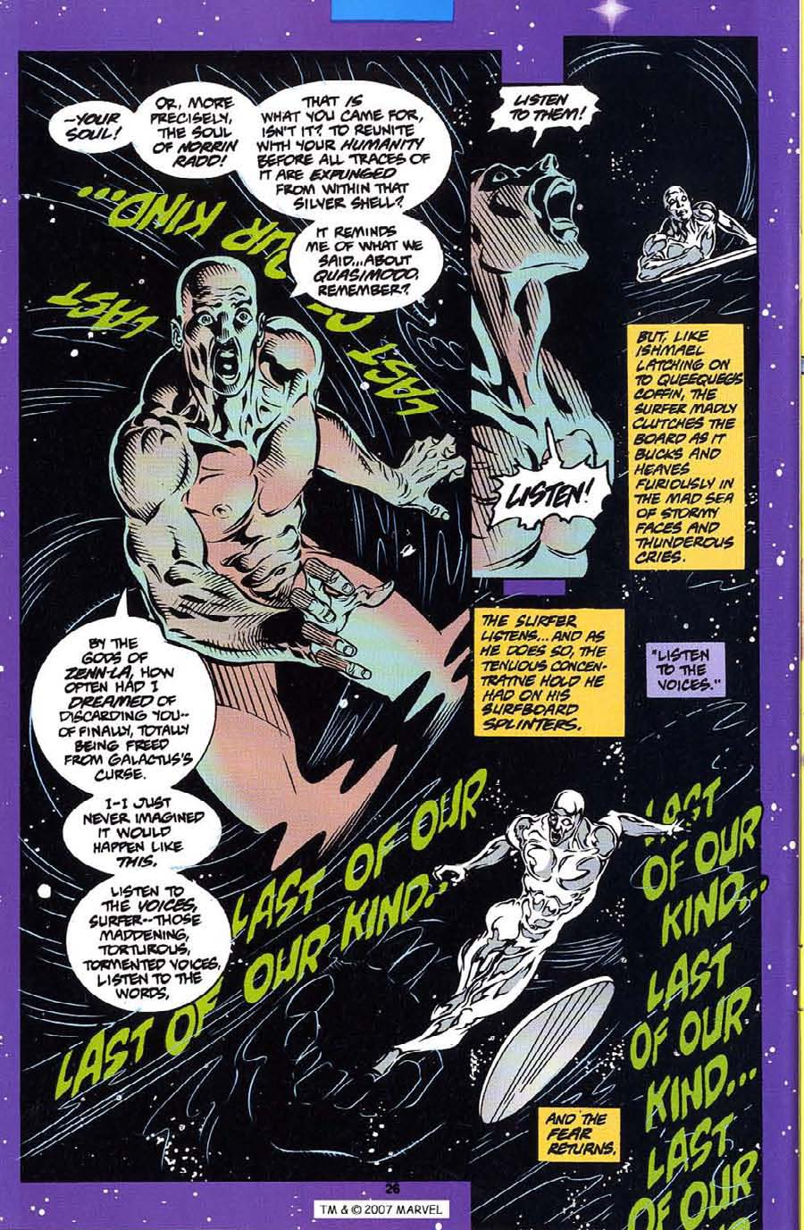 Silver Surfer (1987) Issue #113 #121 - English 28