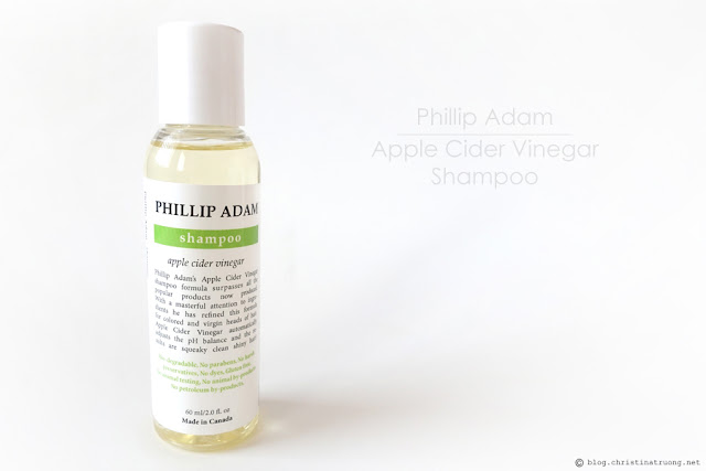 Phillip Adam Apple Cider Vinegar Shampoo Review