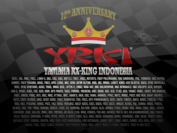 12th Anniversary Yamaha RX-King Indonesia (YRKI)
