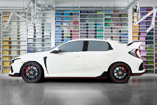 Lego Masters Honda Civic Type R