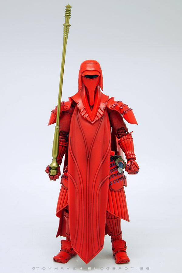 Custom Crimson Robe for Emperor Royal Guard Star Wars Black Series NO FIGURE