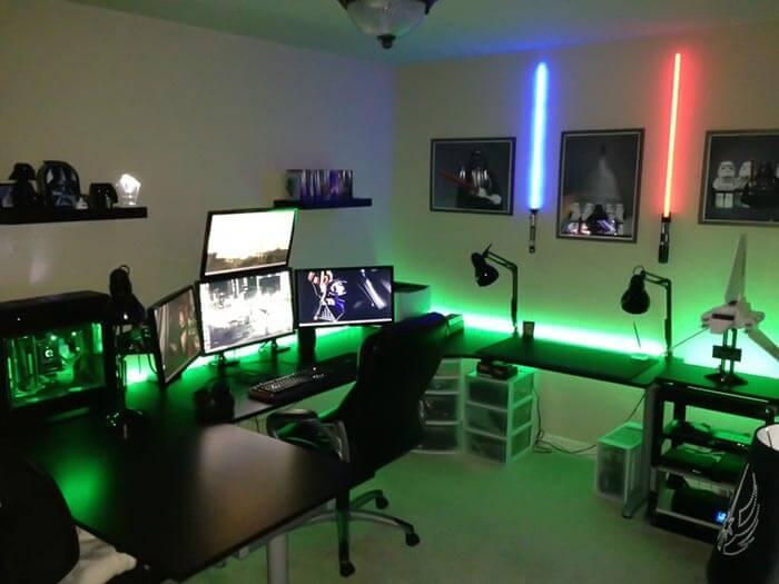 star wars temalı oyun odası