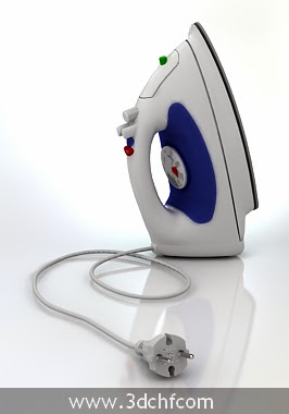free 3d model iron
