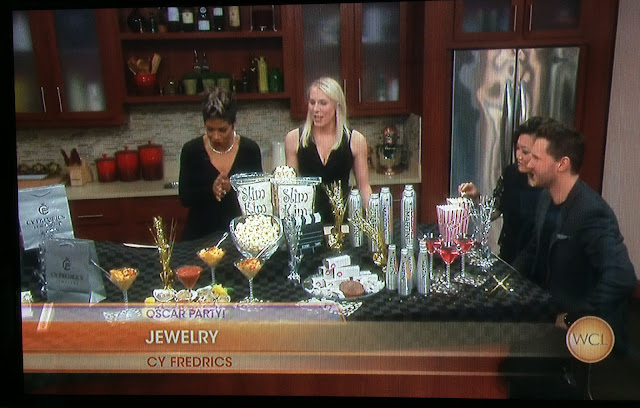 Glam Oscar Party Tips as featured on Windy City Live | all dressed up with nothing to drink...