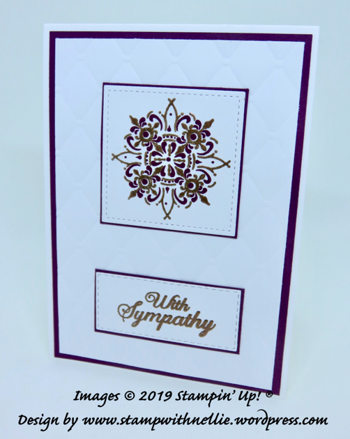 Stampin Up Project share Nigezza creates & Stamp With Nellie