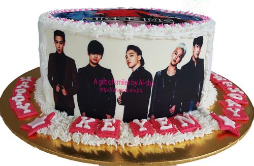 BIGBANG KPOP Birthday Cake
