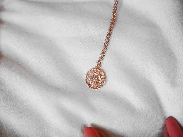 Primark Rose Gold Necklace
